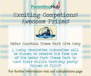 Enter to win your child's next birthday party http://www.parentinghub.co.za/competitions/cedar-junction-theme-park/