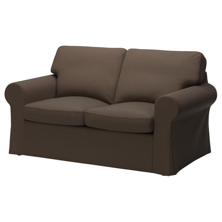 EKTORP Loveseat - Jonsboda brown - IKEA