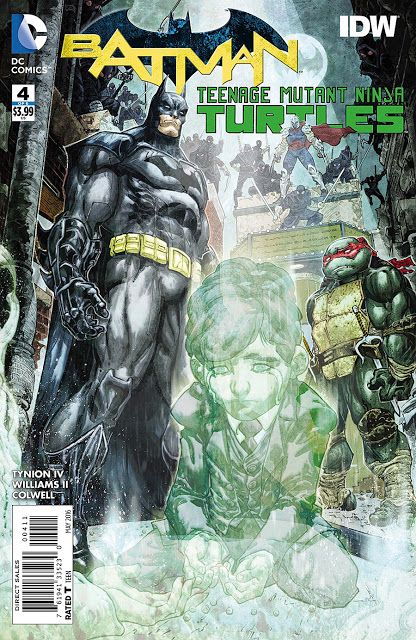 DC Cover of the Day: Preview: Batman/Teenage Mutant Ninja Turtles #4