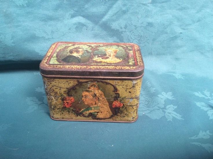 antique/vintage rare QUEEN VICTORIA young and old commemorative tin... | eBay