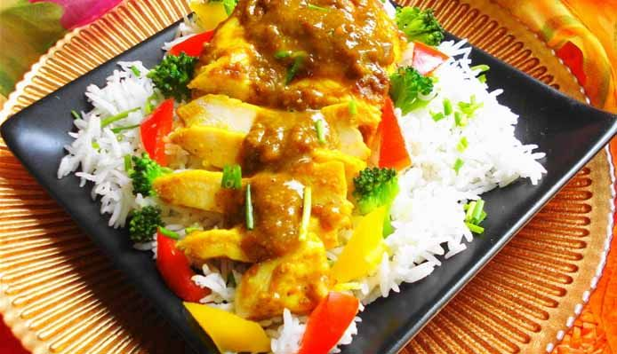 Surinaams eten – Kip Masala Trafasie (speciaal geroosterde Hindoestaanse kip)