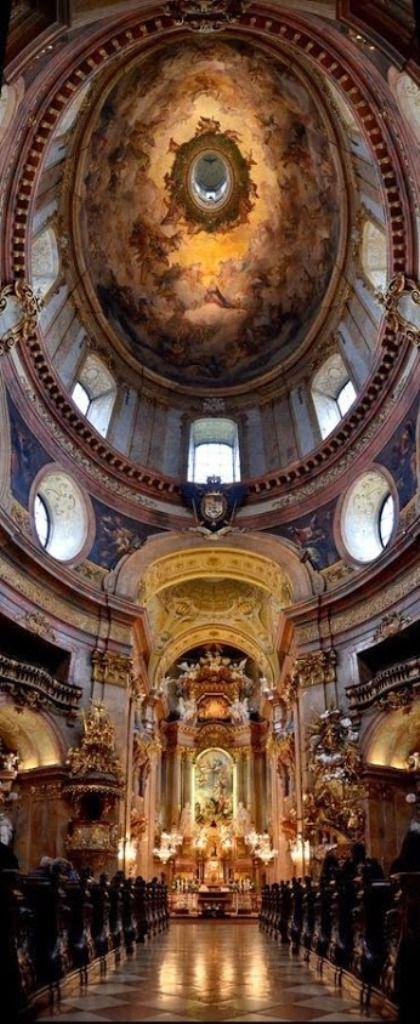 Iglesia de San Pedro, Viena, Austria.
