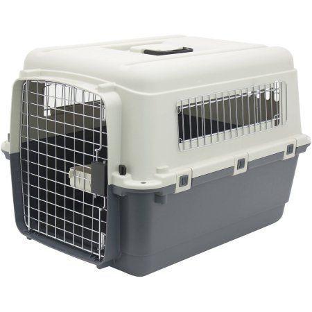 Kennels Direct Premium Plastic Dog Kennel, Medium, Beige