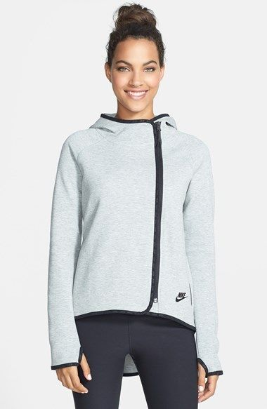 Free shipping and returns on Nike 'Tech' Hooded Fleece Jacket at Nordstrom.com. Keep up your best training even when the weather takes a turn for the worst in this warm and comfortable fleece jacket. The multi-panel hood fits high around the neck, and a drop-tail hem provides extra protection from the elements.