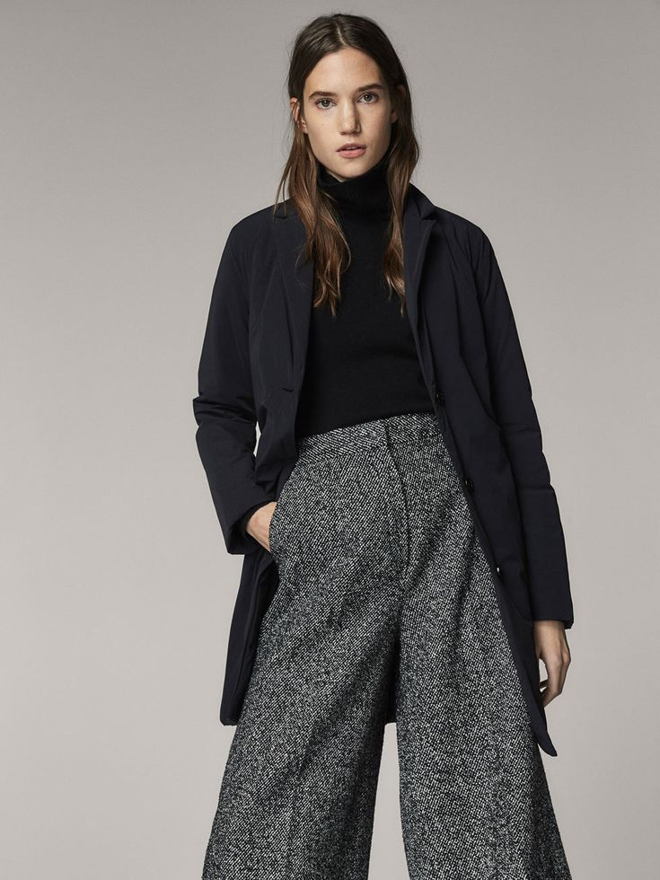 Fall Winter 2017 Women´s LONG QUILTED JACKET at Massimo Dutti for 245. Effortless elegance!