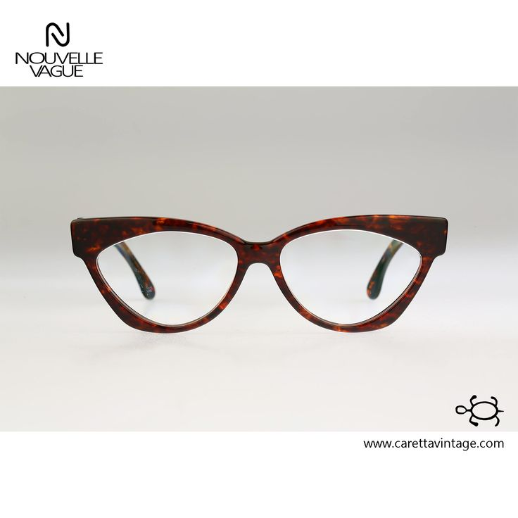 Nouvelle Vague S 5 Mary 54 / vintage eyeglasses / 80s rare and unique