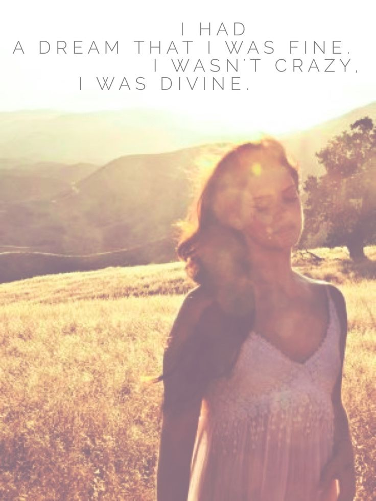 I Can Fly - Lana Del Rey