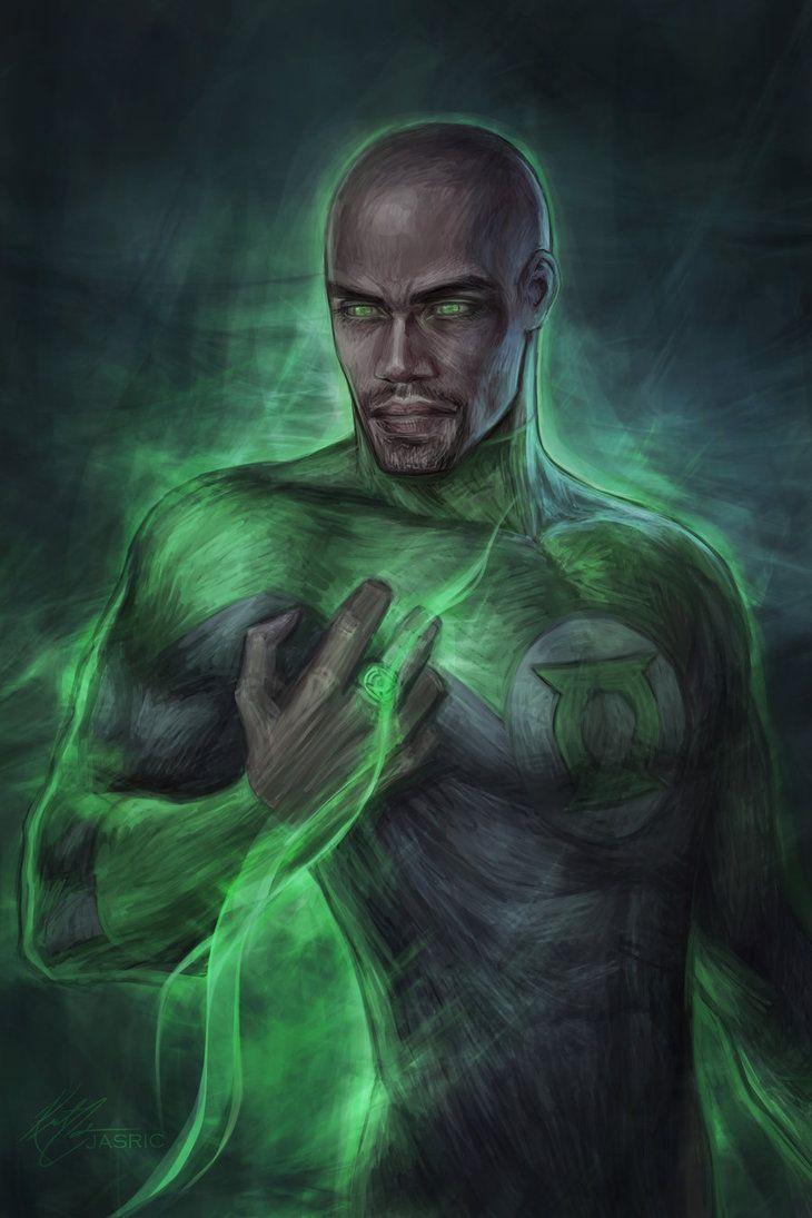 John Stewart, Green Lantern - jasric.deviantart.com