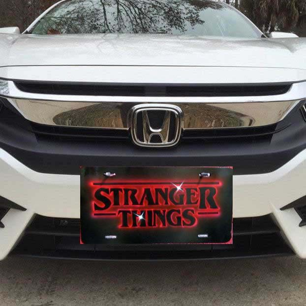 Excited To Share The Latest Addition To My Etsy Shop Custom Airbrushed Stranger Things Front License Pl Chevrolet Colorado Honda Logo Custom Airbrushing,Experimental Study Design Types