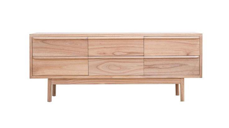 Seed Dresser l Modern Mindi Wood Drawers l Sustainable Bedroom Furniture