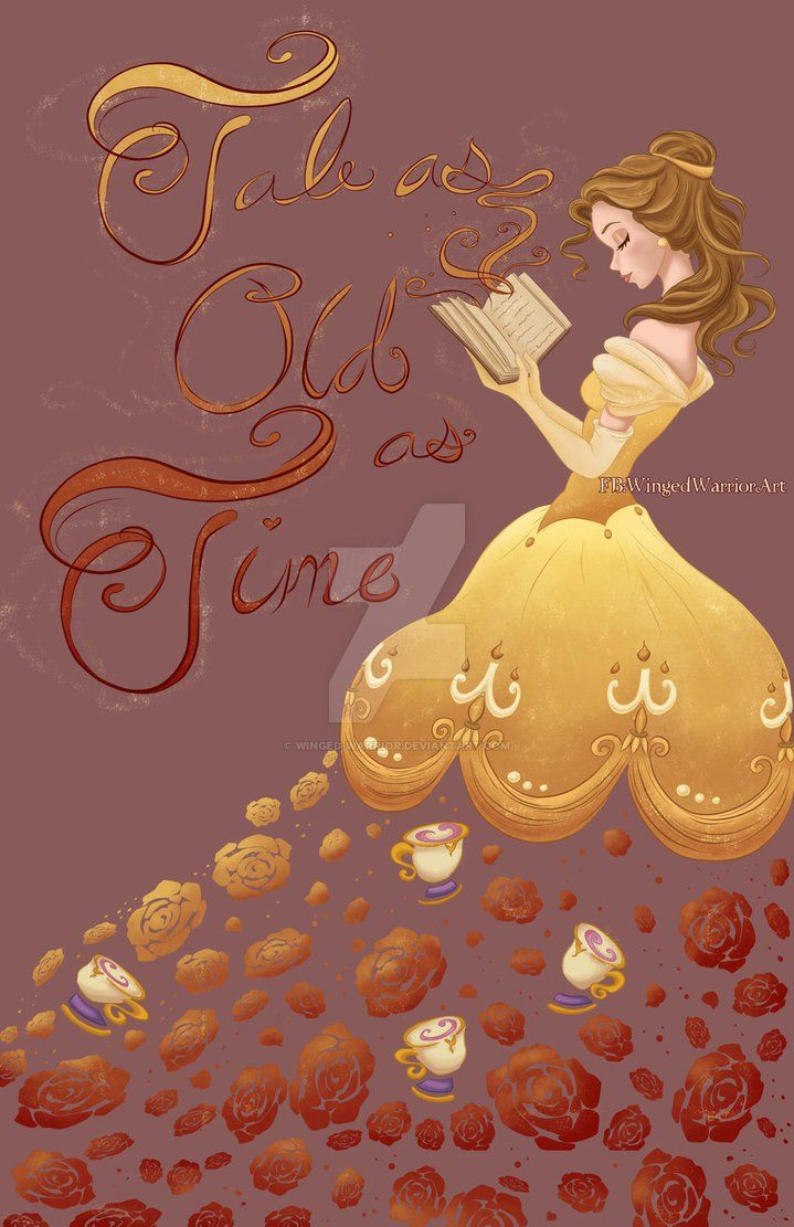 Tale as Old as Time by Winged-warrior.deviantart.com on @DeviantArt