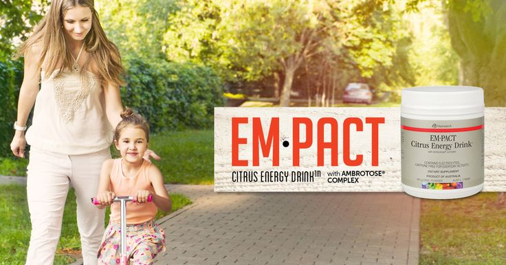 Mannatech Australasia announced a new look for its well-loved citrus energy drink, EM•PACT Citrus Energy Drink™ mix. #feeltheempact #empact #sportsperformance #glyconutrition #mannaproducts #mannatechaustralasia