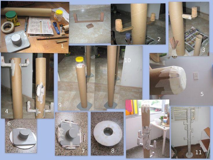 como reutilizar tubos de carton - Buscar con Google