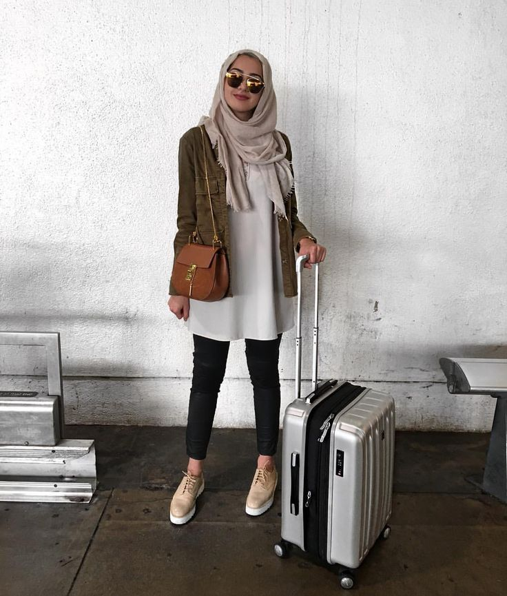 Style hijab inspiration- photo by @summeralbarcha on Instagram