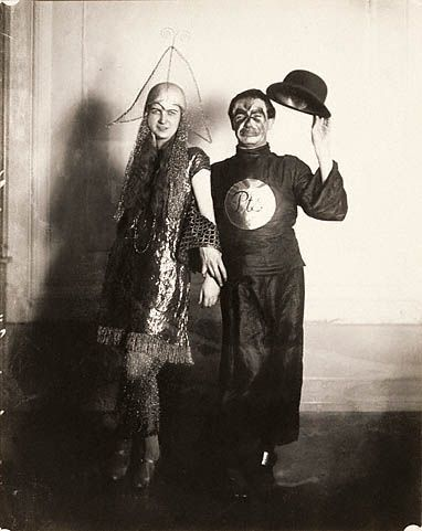 Ash Wednesday Carnival by August Sander, ca. 1930 (Getty Museum)