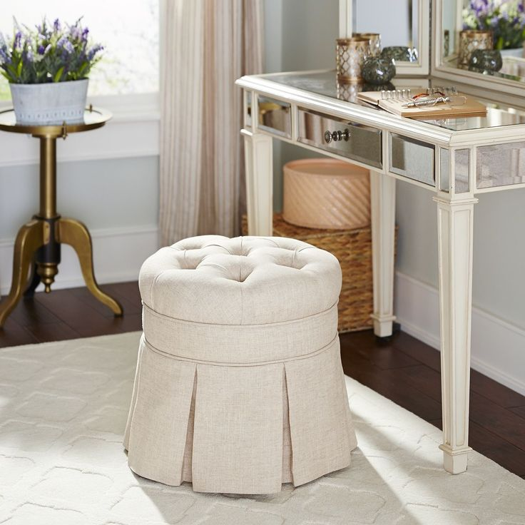 Avery Vanity Stool | Pier 1 Imports