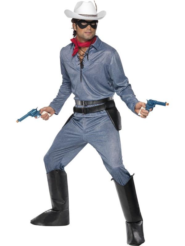 The Lone Ranger Costume inspiration For Hank