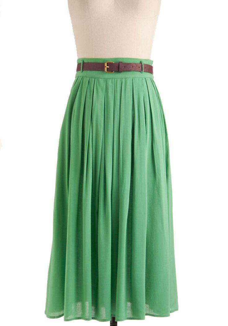 Swish skirt. Love it!