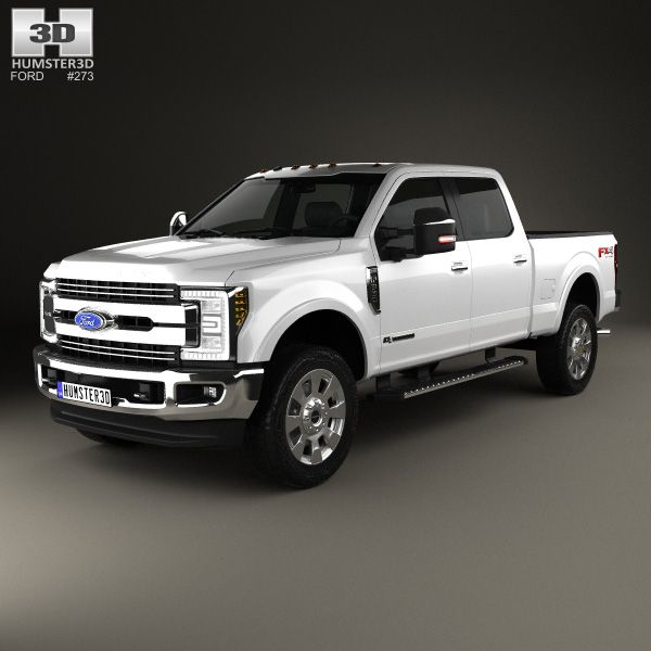 Ford F-350 Super Duty Super Crew Cab King Ranch 2015 3D