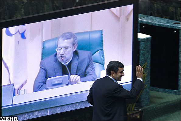 Elections | Defining Democracy Down: Iran's New Presidential Election Law      [ news analysis ] Two major events recently took place within the recondite realm of Iranian power politics that on initial view may appear to stand in contradiction. First, Supreme Leader Ayatollah Ali Khamenei announced that while the Majles was justified in passing a motion to question President Mahmoud