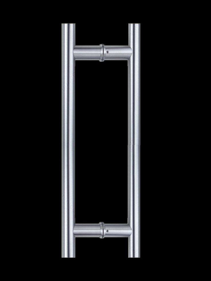 Ladder Pull Handle Back To Back Brushed Satin Stainless