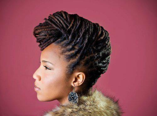 Strange 1000 Images About Loc Updos On Pinterest Short Hairstyles For Black Women Fulllsitofus