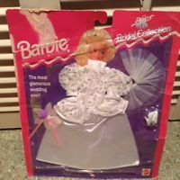 Mattel Barbie Bridal Collection Fashions 1994 Sealed