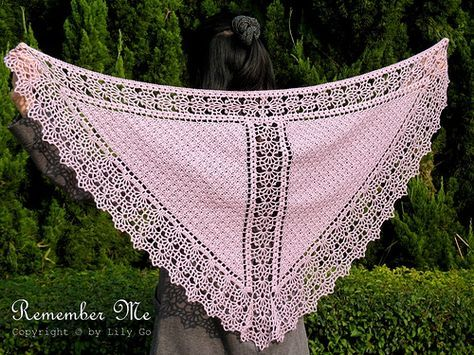 Ravelry: Remember Me pattern by Lily Go