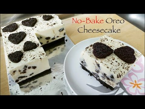 No-Bake Oreo Cheesecake [in English] - YouTube