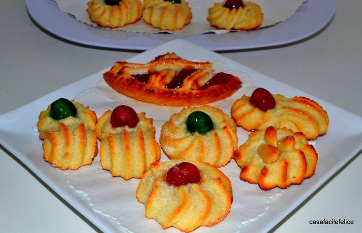 Dolcetti di pasta reale o di mandorle, video. on http://casafacilefelice.org