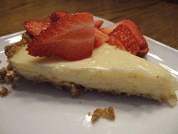 Tarte à la crème acidulée au citron et aux fruits