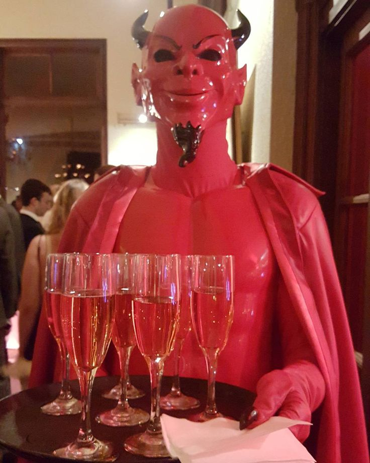 """""""What's the Red Devil serving up? #ScreamQueens"""""""