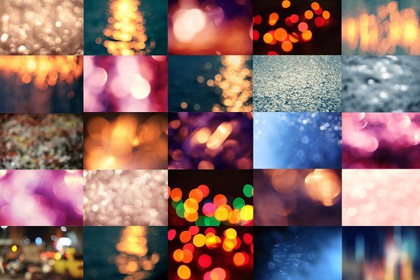 Bokeh bundle by EkaterinaPlanina on @creativemarket