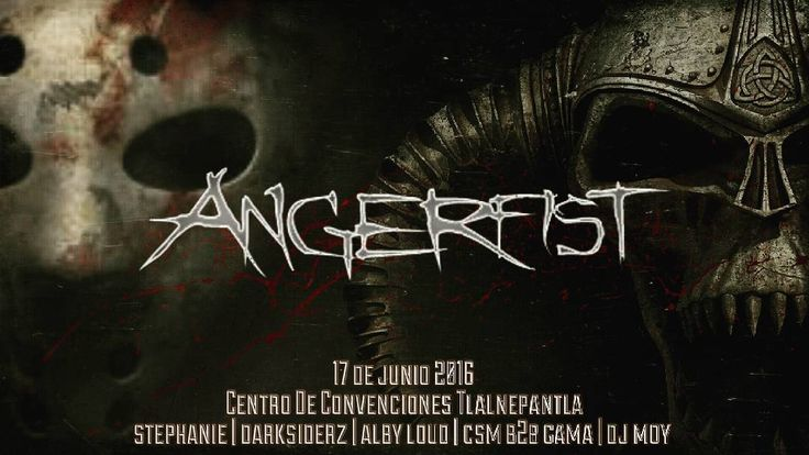 On instagram by hardgirlsnation #gabber #gabbermadness (o) http://ift.tt/1Xsm1FY for 2nd time to Mexico!!!! To the master @angerfist_official  ___________________________________________ 17 de Junio 2016 Centro de Convenciones Tlalnepantla. 19:00 hrs. Tickets $300.00  #HardGirlsNation #Angerfist #Hardcore #MOH #MastersOfHardcore #HardcoreForLife #Hakken #HakkenDance #Gabber #RaiseYourFist #RaiseAndRevolt #HardcoreLadies