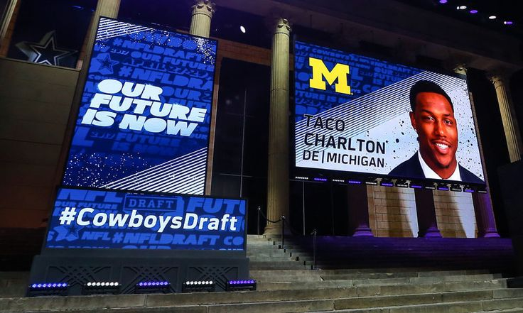 Cowboys sign Taco Charlton and four others to rookie contracts = The Dallas Cowboys have officially signed five of their 2017 NFL Draft picks to their four-year rookie contracts, the franchise announced on Friday morning. In doing so, the Cowboys notably inked first-round pick and former Michigan Wolverines defensive end Taco Charlton to his first NFL contract. Rounding out Friday's list of signings, Dallas has also…..