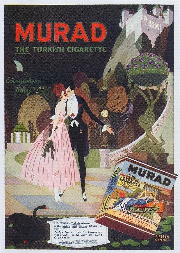 gatochy art   ... Cigarettes, 1917 by Gatochy, via Flickr