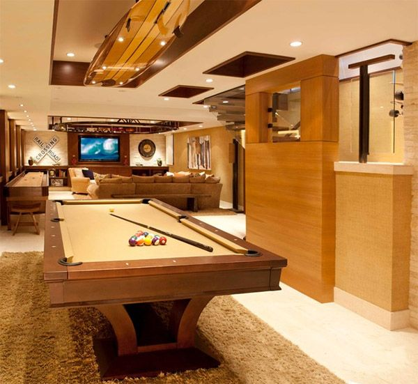 20 Man Cave Finished Basement Designs Youu0027ll Totally Envy
