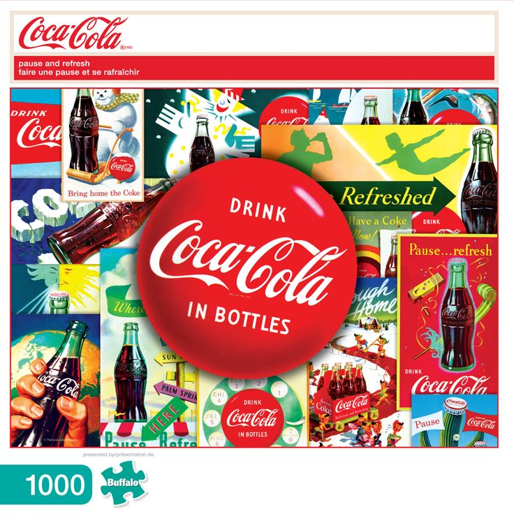 20 best Coca-Cola Puzzles by Buffalo Games images on Pinterest ...