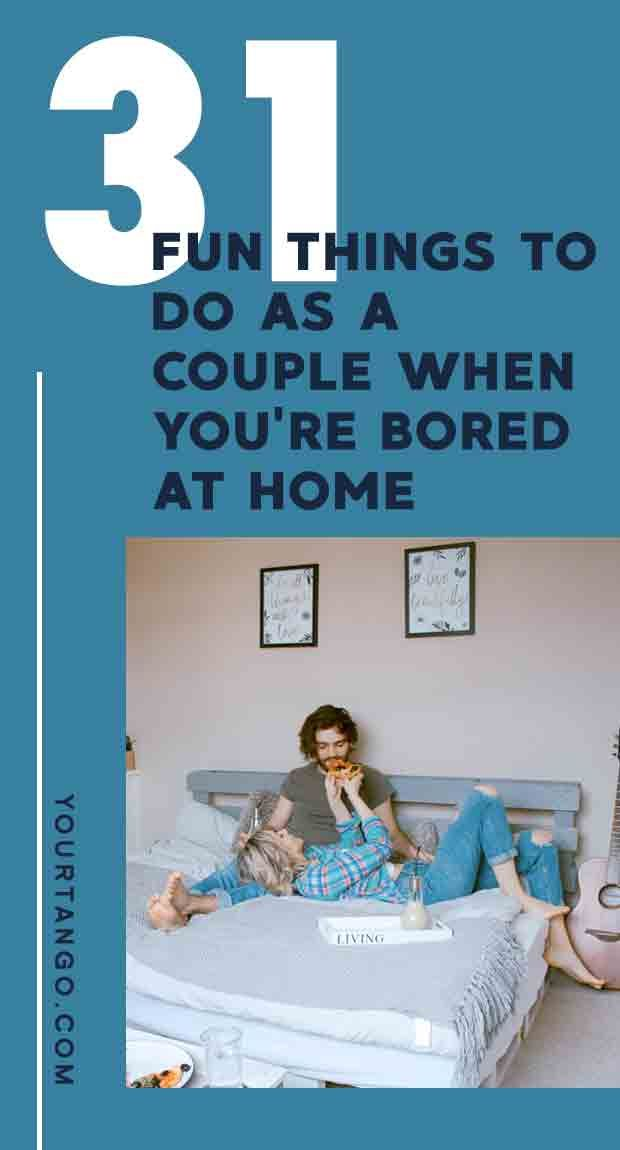 Things to do as a couple at home