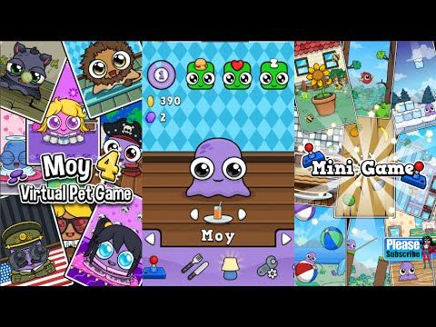 Moy 4 Virtual Pet Game Videos games for Kids - Girls - Baby Android İOS ...