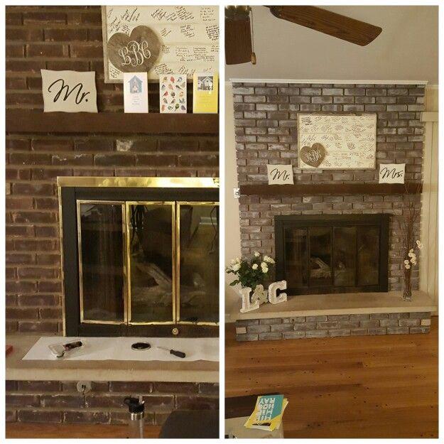 Best 25 Fireplace Update Ideas On Pinterest Brick Fireplace Brick Fireplace Makeover And
