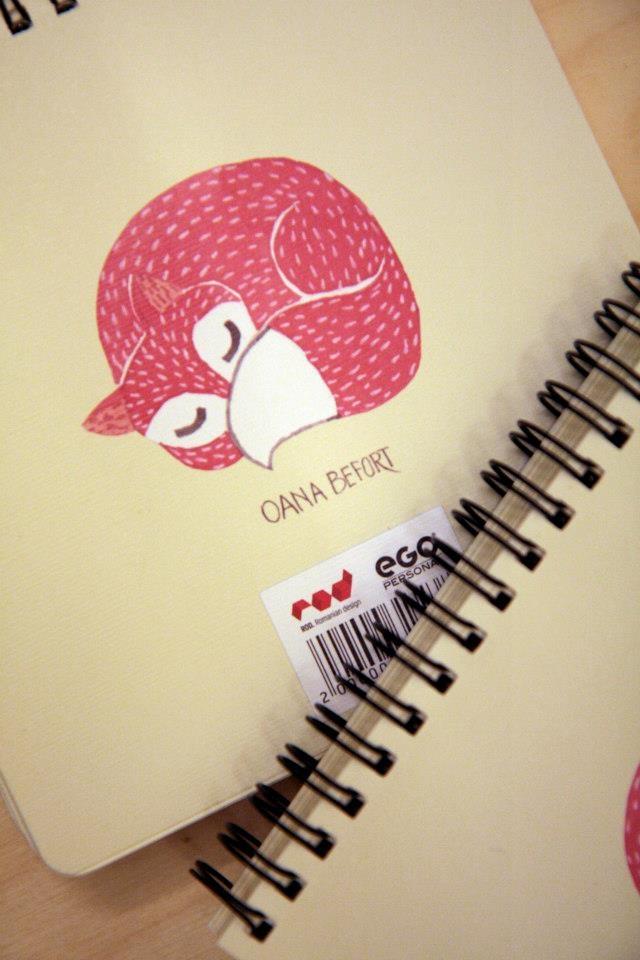 Oana Befort illustration for ROD Notebooks