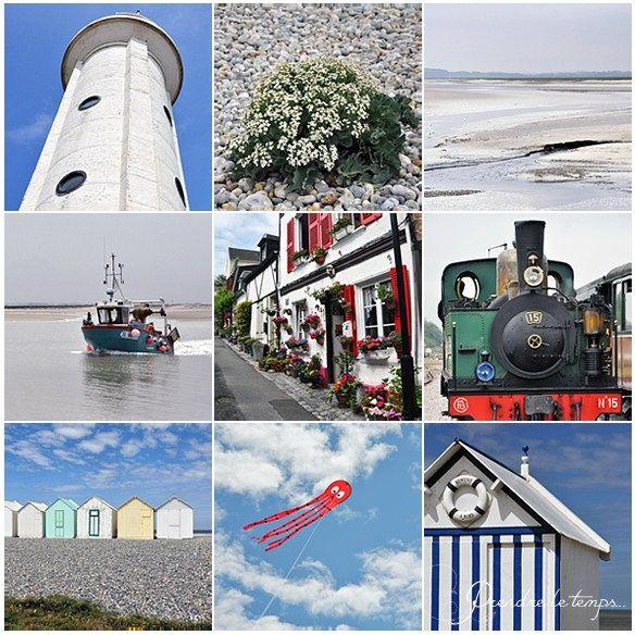 Prendre le temps - Cartes Postales 01 - De Saint-Valéry-sur-Somme à Cayeux-sur-Mer - Picardie