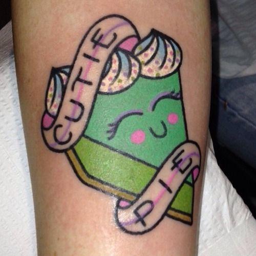 Cutie Pie Kelly McGrath - Art Alive Tattoo Studio, Archdale NC IG: @kellymcgrathart - kellymcgrathart.com