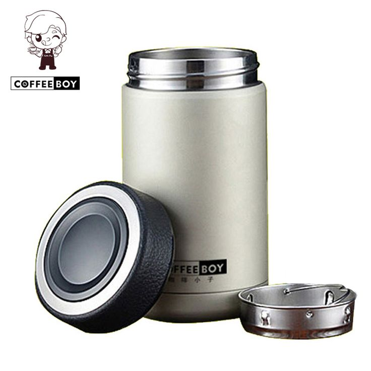 Coffee Boy 304 stainless steel thermos coffee mugs thermo cup vacuum flasks thermoses termos thermocup