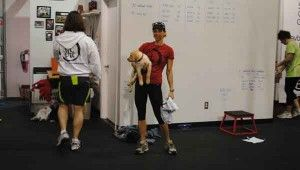 One workout here and Jenn was hooked for LIFE. #crossfit #fitpit #workout