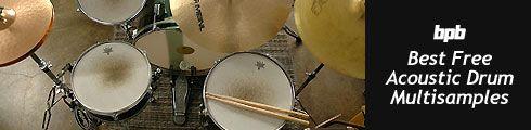 Free Acoustic Drum Samples! - Bedroom Producers Blog