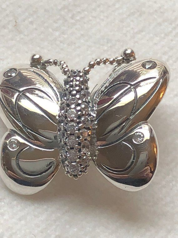 Charms for Bracelets and Necklaces Butterfly Charm