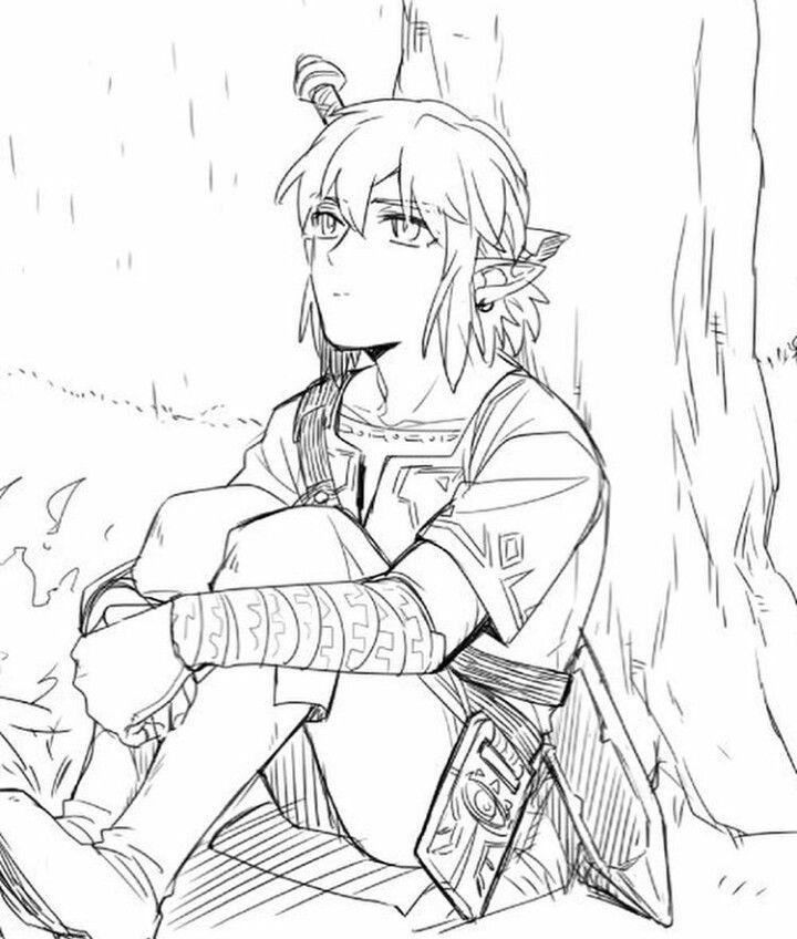Zelda Ausmalbilder Ausmalbilder Für Kinder Malvorlagen Zelda