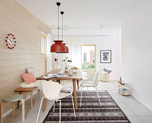 Offene Wohnräume dank durchdachter und optimierter Architektur.